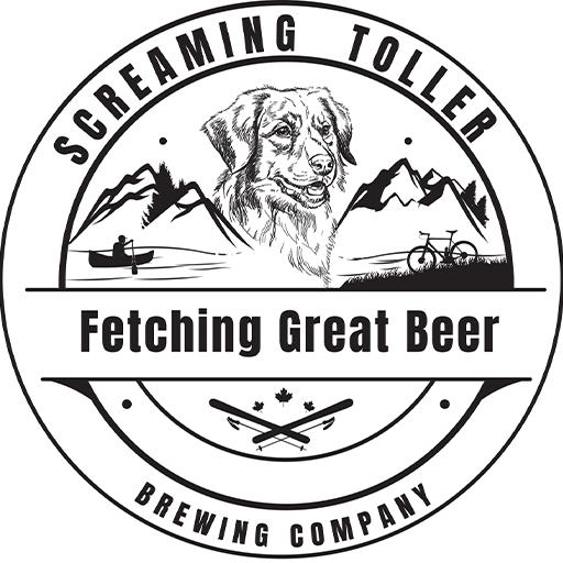 Sceaming Toller Logo Black 512