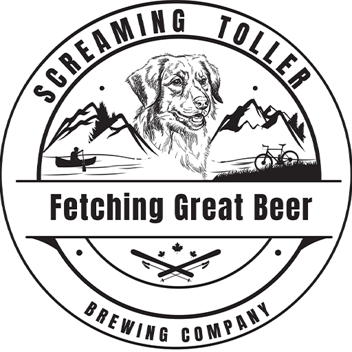 Screaming Toller Logo Black