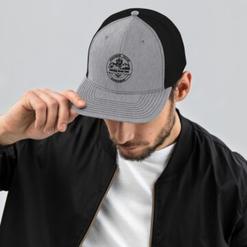 Screaming Toller Trucker Hat Grey