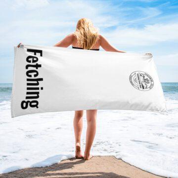 Fetching Beach Towel
