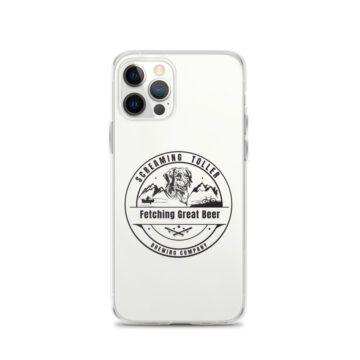 Screaming Toller iPhone Case