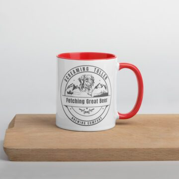 Screaming Toller Mug - Red