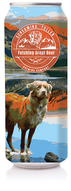 Screaming Toller Alpenglow Can