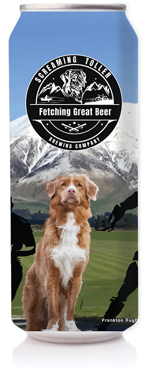Screaming Toller Silky Stout Can
